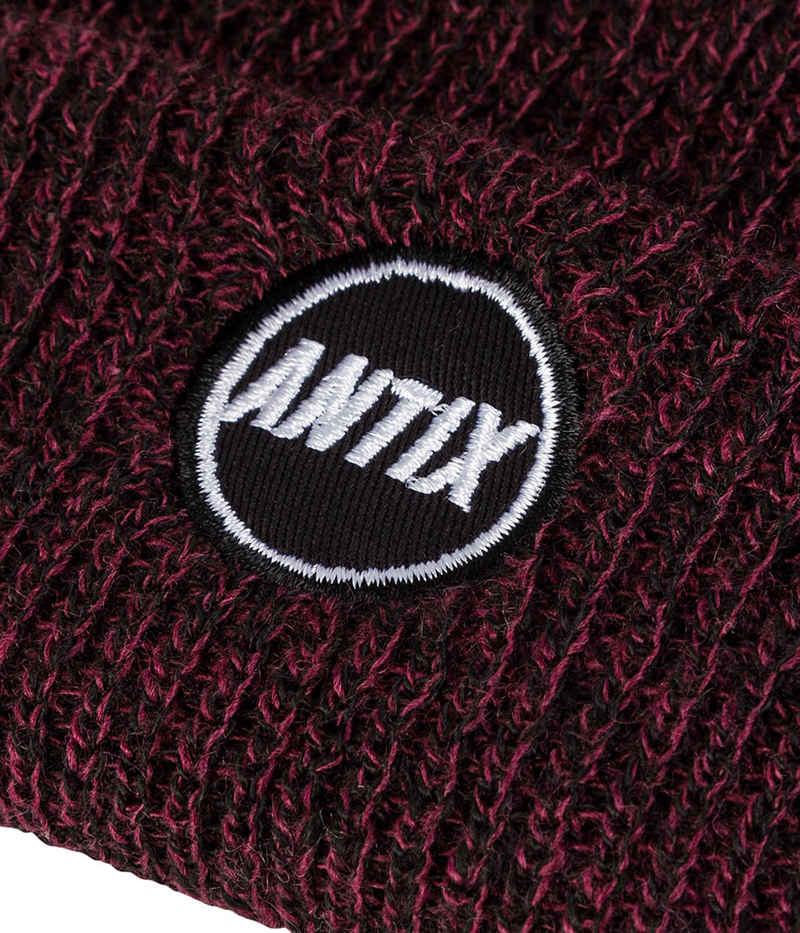 Antix Orbit Beanie (heather burgundy)