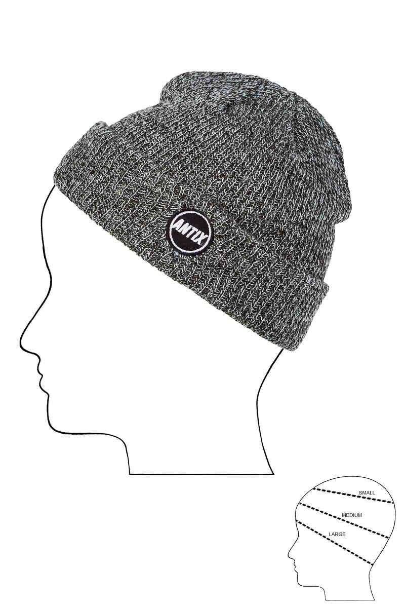 Antix Orbit Mütze (heather grey)