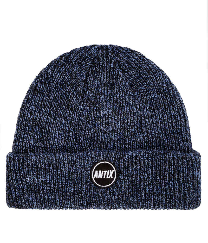 Antix Orbit Beanie (heather blue)
