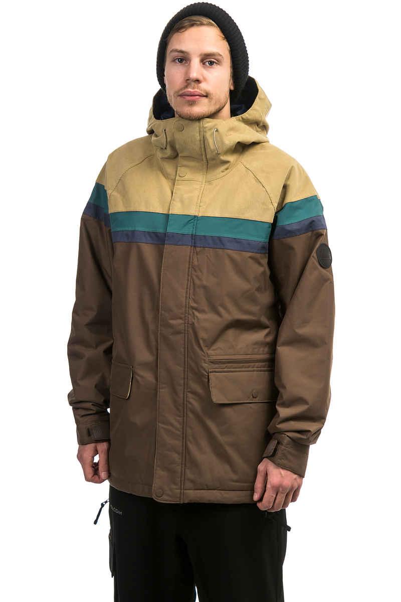 Burton Docket Snowboard Jacke (chestnut cord indigo)