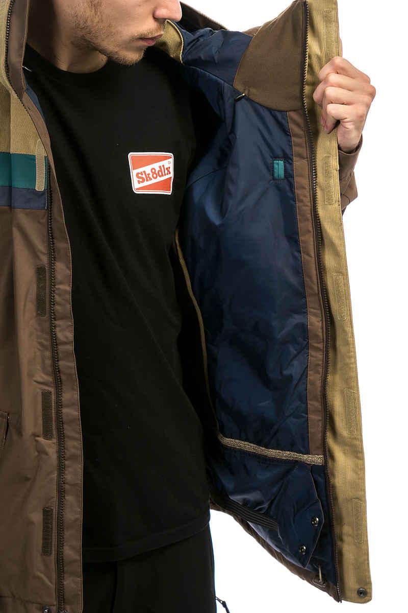 Burton Docket Snowboard Jas (chestnut cord indigo)