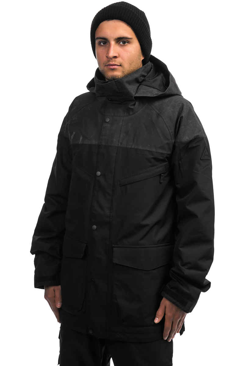 Burton Breach Insulated Snowboard Jacke (true black wax)