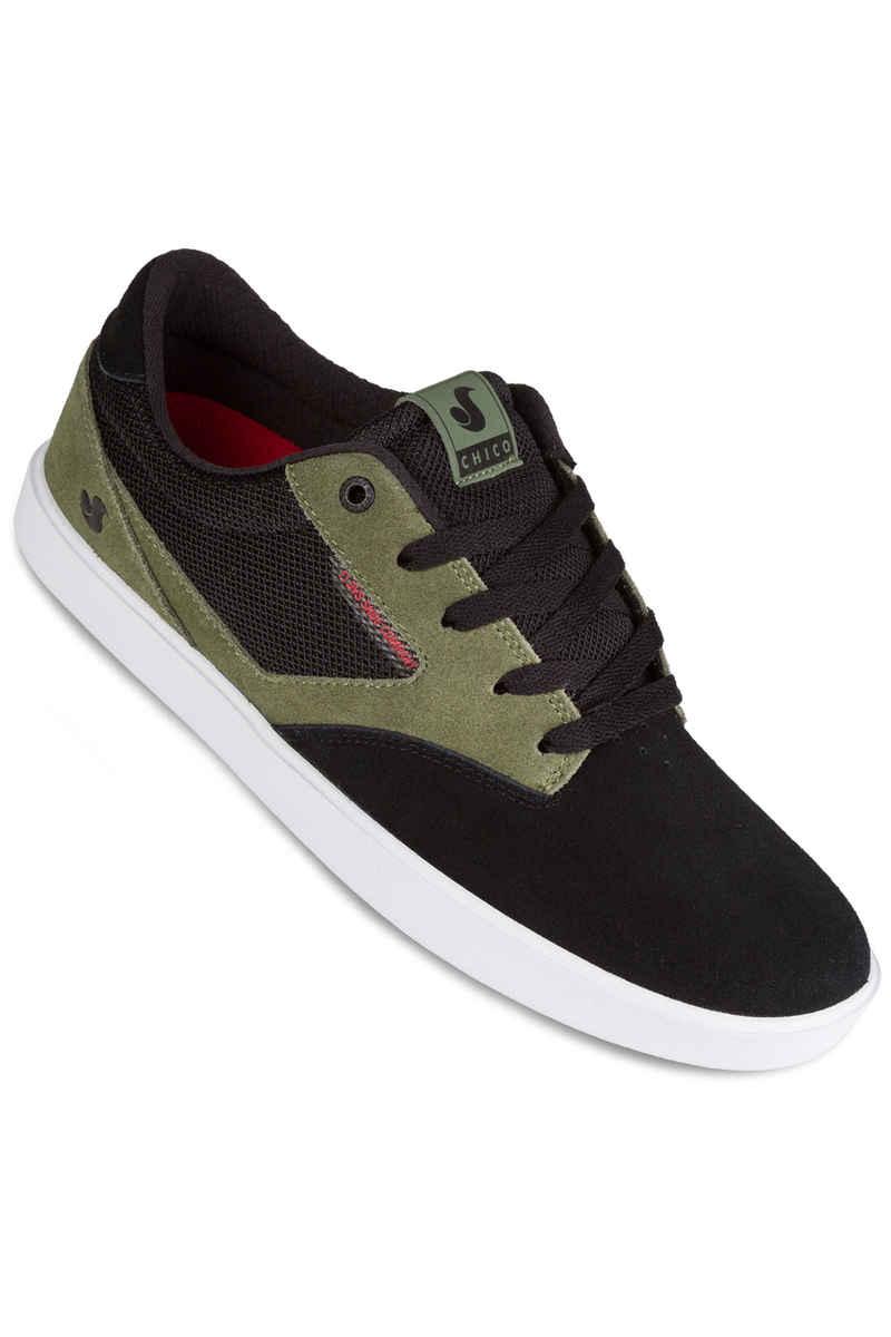 DVS Pressure SC Suede Shoes (black olive chilipepper chico)