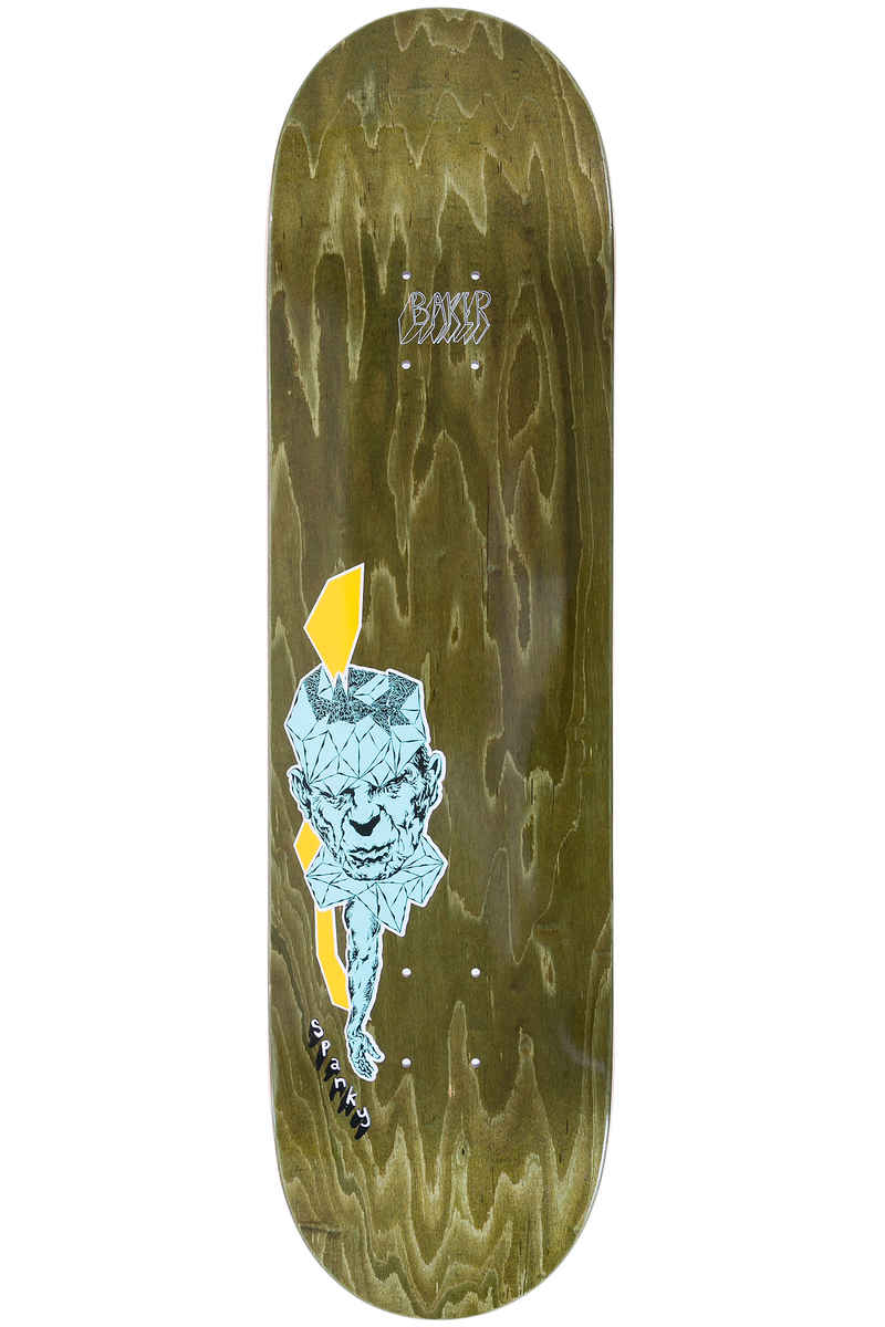 "Baker Spanky Hands On 8.25"" Deck (green)"