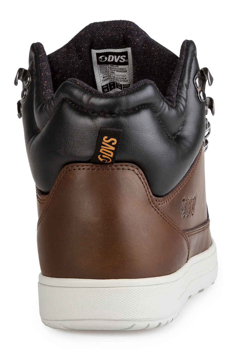 DVS Vanguard Leather Shoes  (chocolate brown)