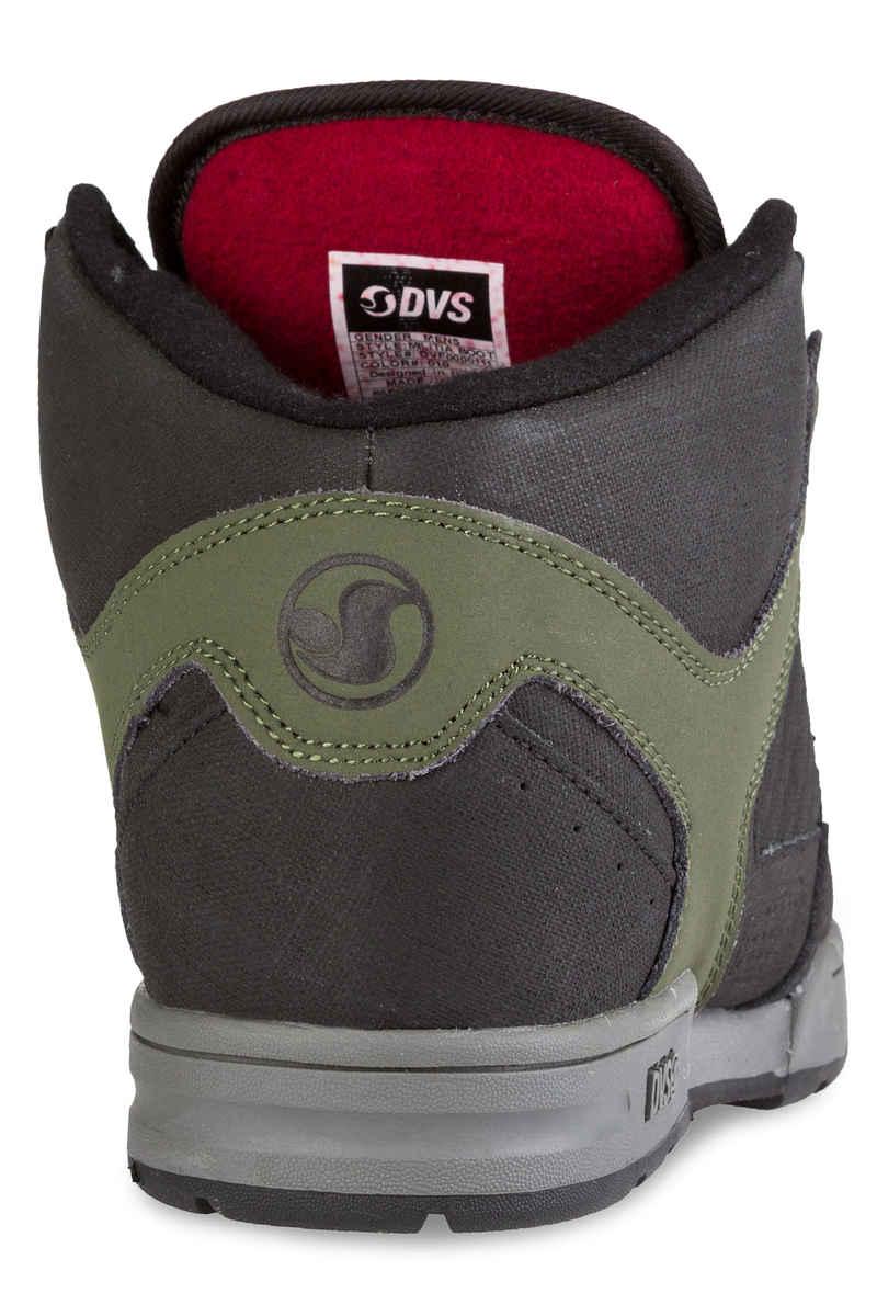 DVS Militia Boot Leather Shoes  (olive black ferguson)
