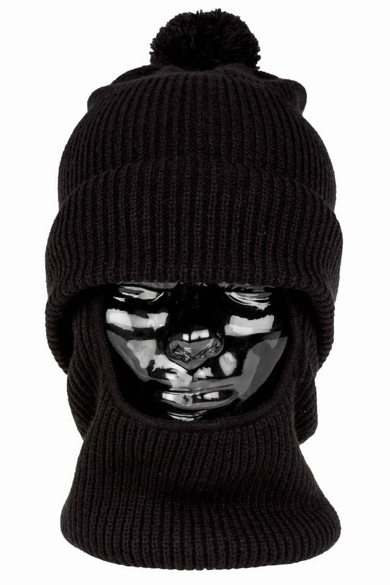 Analog Double D Beanie (true black)