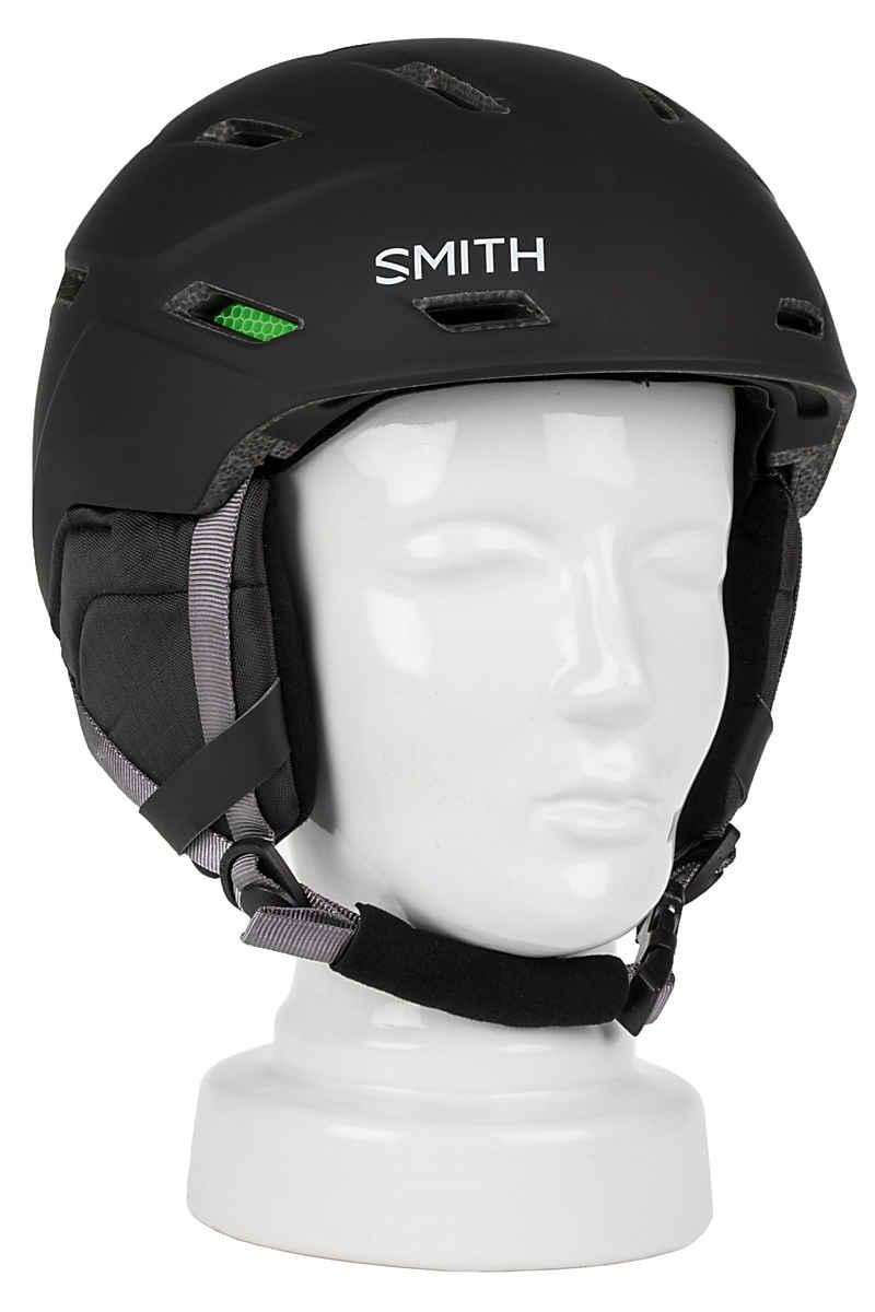 Smith Mission Casco de Snow (matte black)
