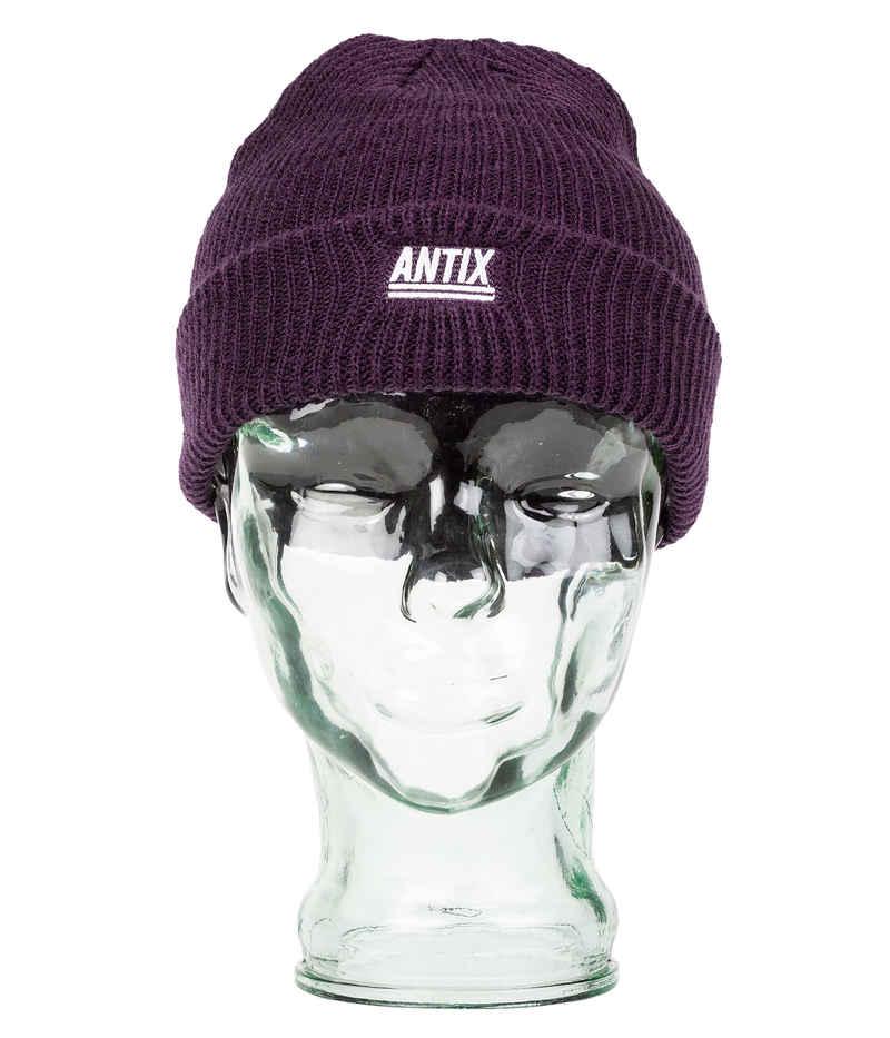 Antix Prisma Mütze (aubergine)