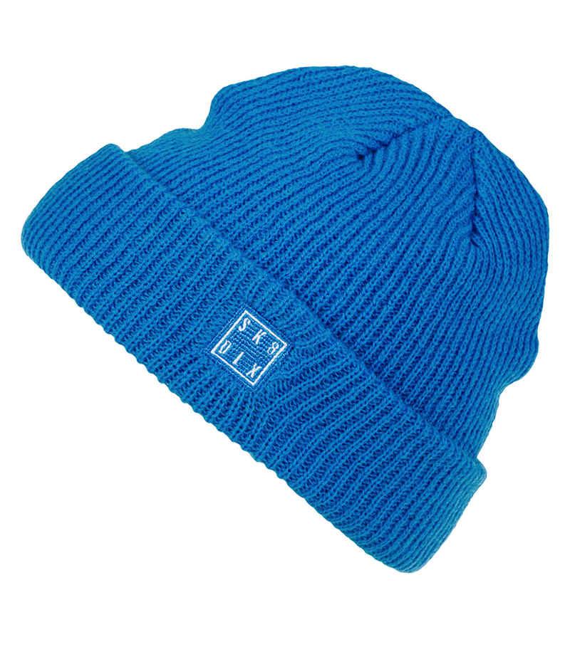 SK8DLX Square Mütze (blue)