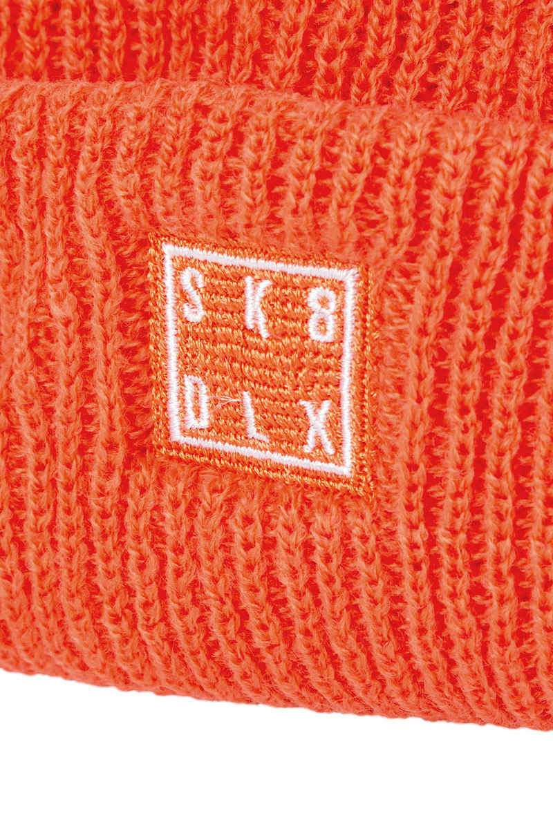 SK8DLX Square Mütze (orange)