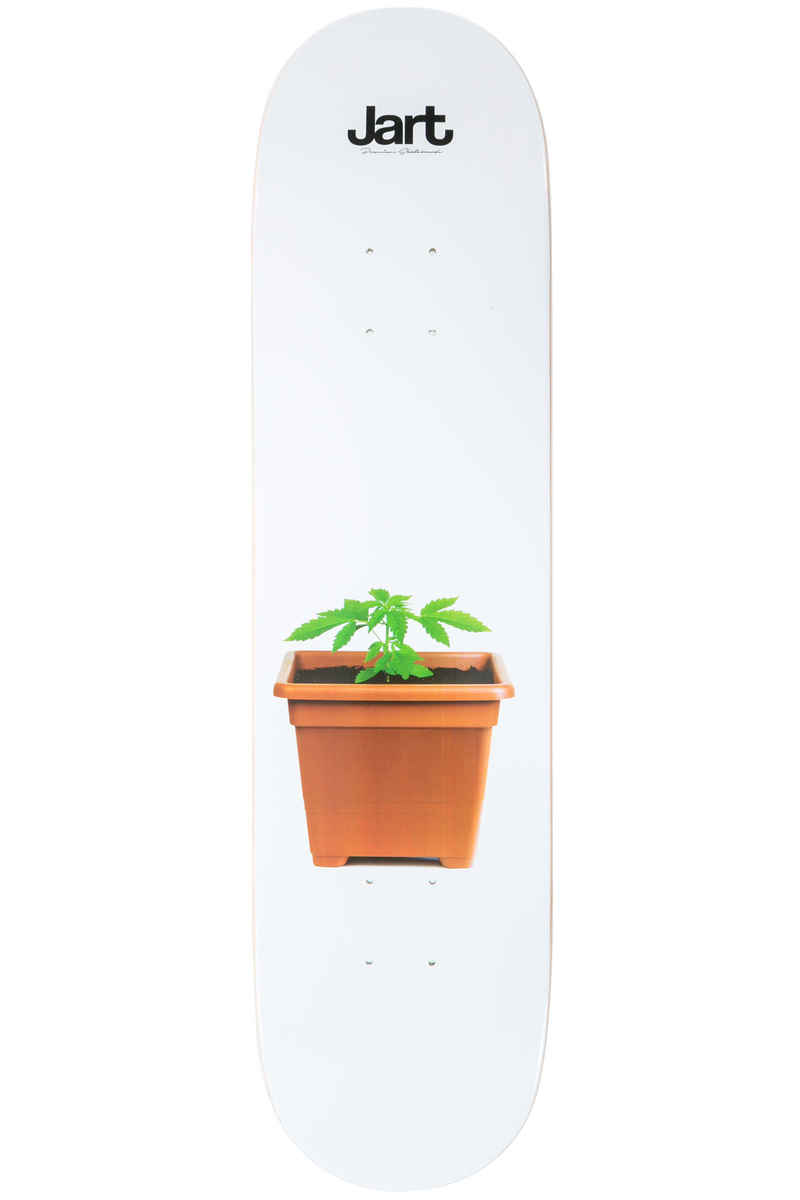 "Jart Skateboards Weed 7.875"" Tabla (white)"