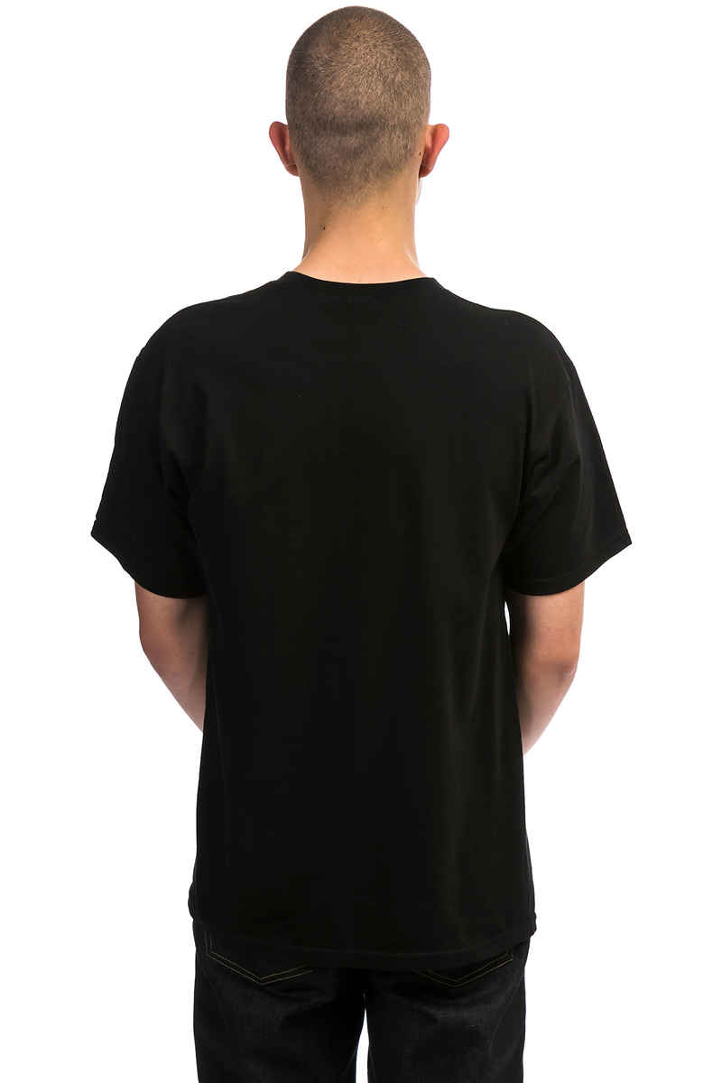 Obey Creeper Embroidered T-Shirt (black)