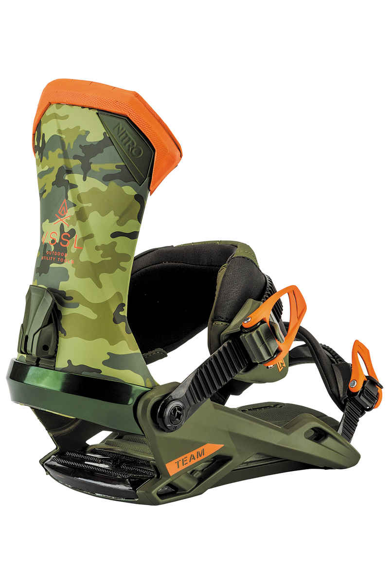 Nitro Team Bindings 2017/18 (camo x vessel)