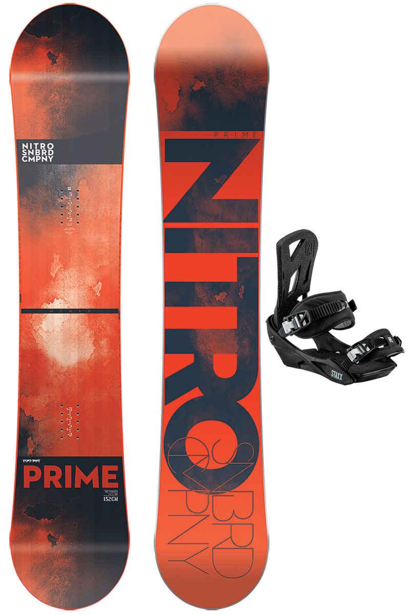 Nitro Prime 152cm / Staxx M Set da snowboard 2017/18