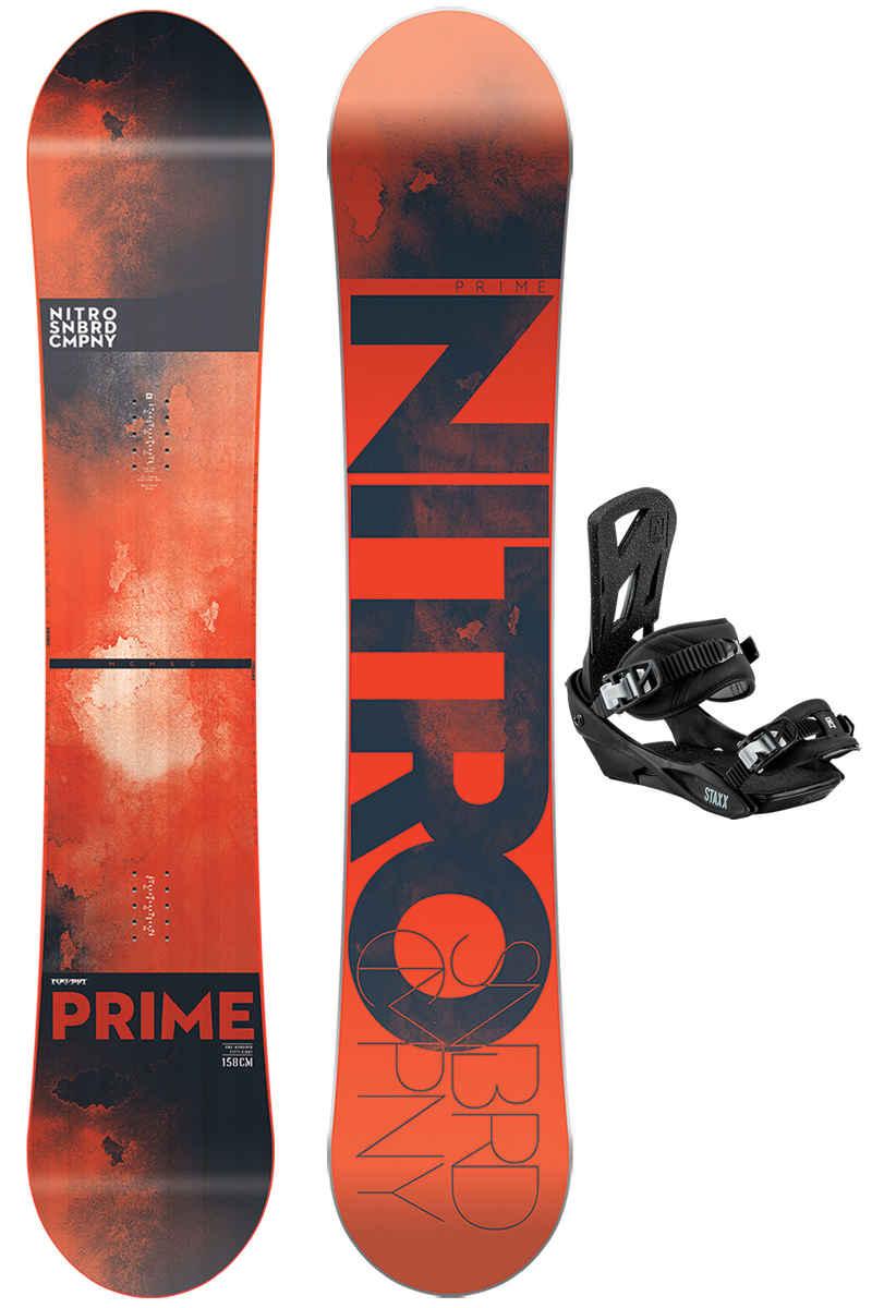 Nitro Prime 158cm / Staxx L Snowboardset 2017/18