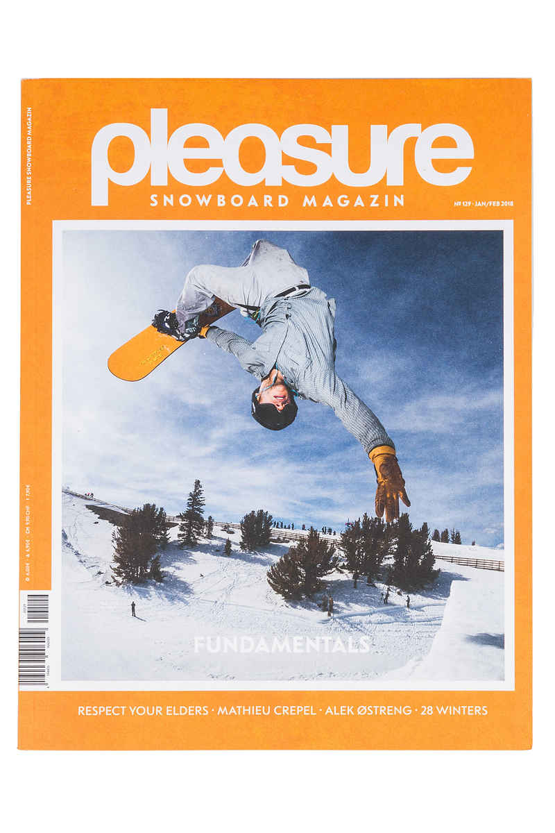 Pleasure #129 Magazin Januar/Februar 2018