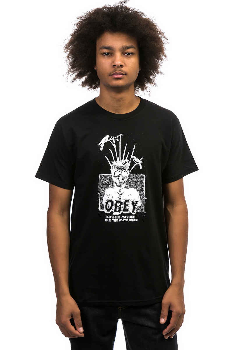 Obey Mother Nature T-Shirt (black)