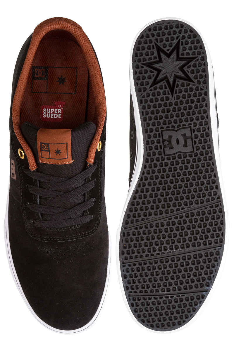 DC Switch S Shoes  (black white brown)