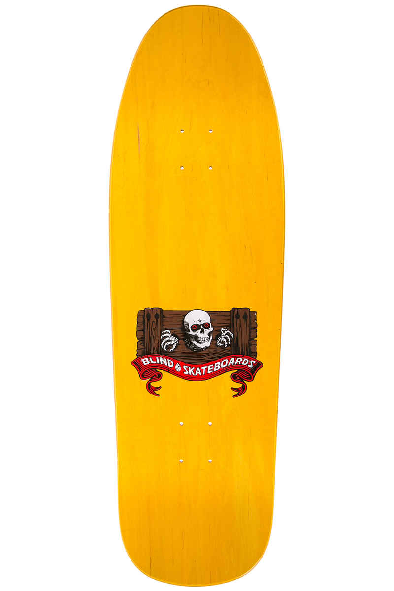 "Blind Gonzales Skull And Banana Heritage Reissue 9.875"" Planche Skate (orange)"
