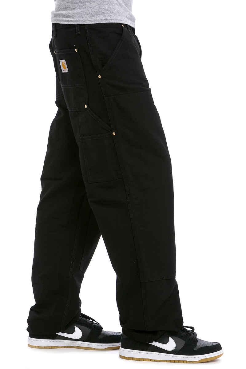 Carhartt WIP Double Knee Pant Turner Pants (black rinsed)