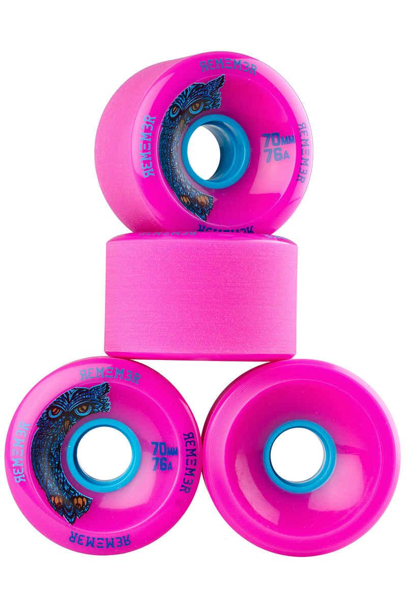Remember Hoot Slide Wiel (pink) 4 Pack 70mm 76A
