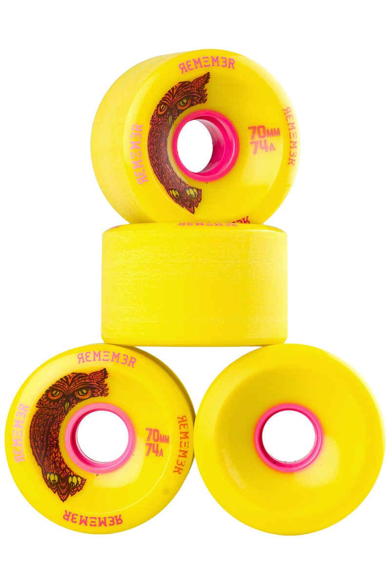 Remember Hoot Slide Ruote pacco da 4 70mm 74A