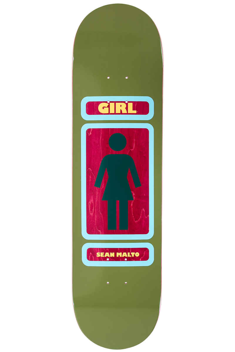 """Girl Malto 93 Til 8.125"""" Deck  (dark green)"""