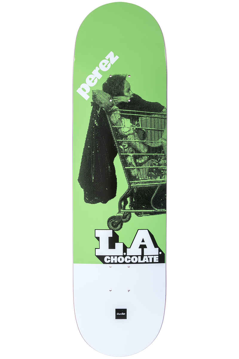 "Chocolate Perez LA Express 8.375"" Deck (green)"