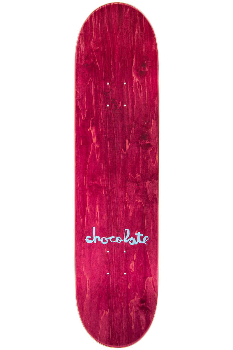 """Chocolate Anderson Original Chunk 8.125"""" Deck (red)"""