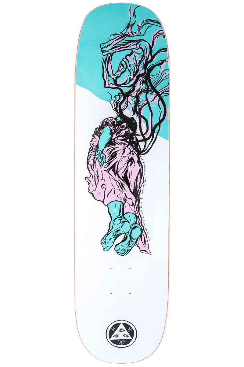 """Welcome Transcend 8.125"""" Planche Skate (white)"""