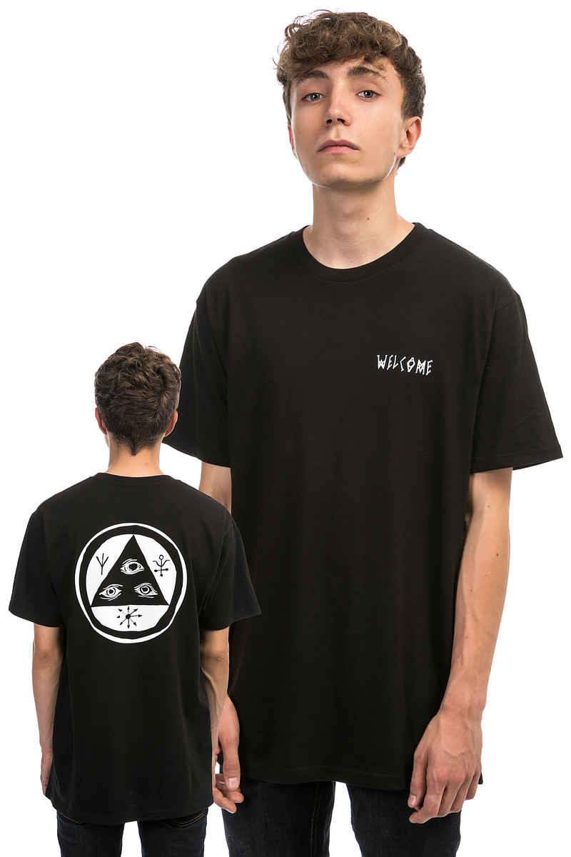 Welcome Talisman T-Shirt (black white)