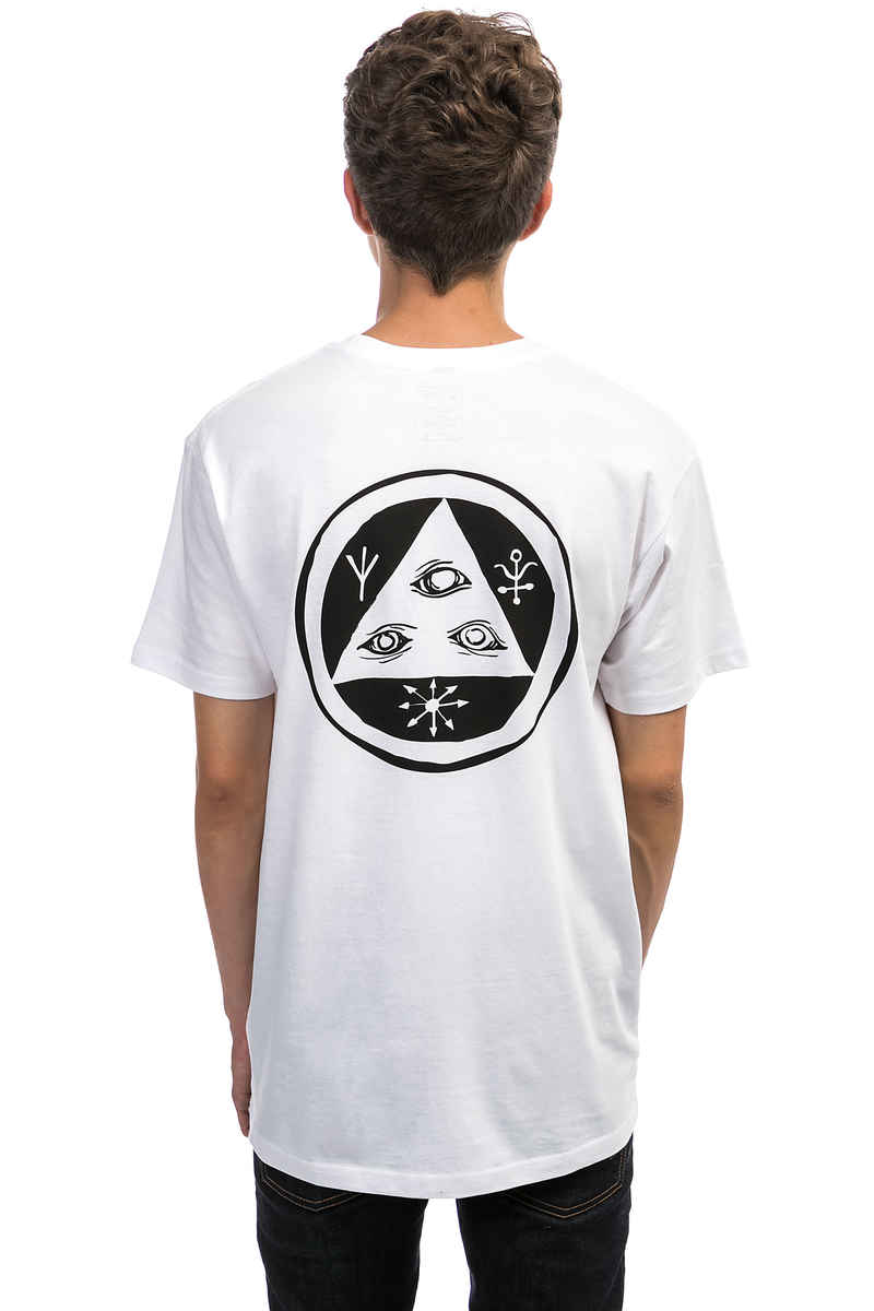 Welcome Talisman Camiseta (white black)