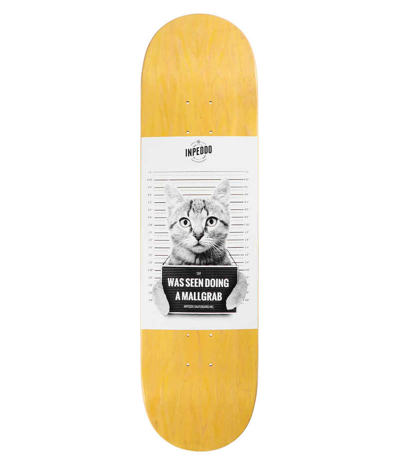 "Inpeddo Mallgrab Cat 8.375"" Planche Skate (wood)"