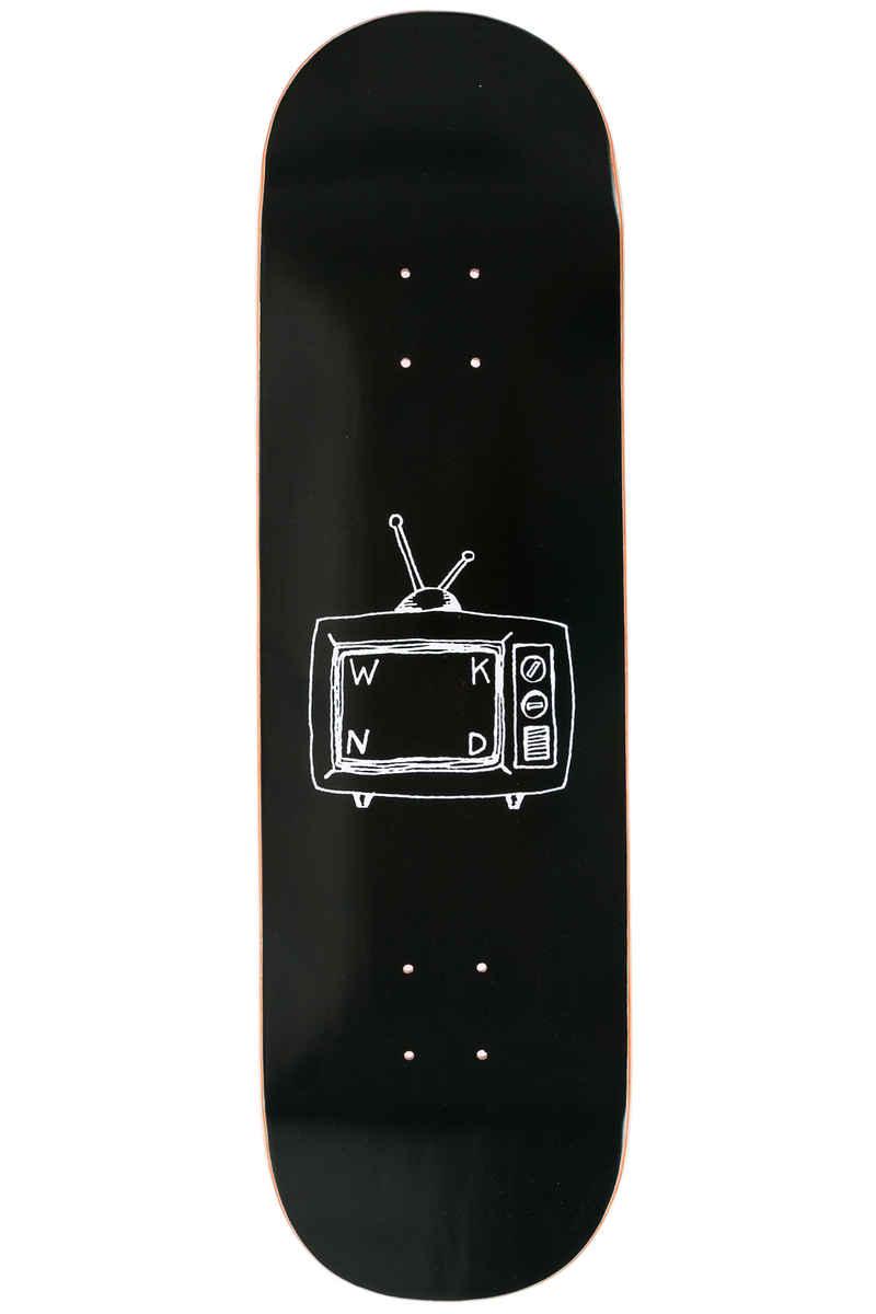 "WKND TV Logo 8.6"" Deck (black)"