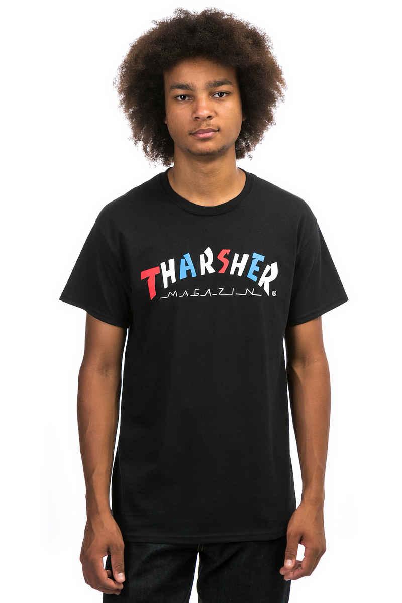 Thrasher Knock-Off T-Shirt  (black)