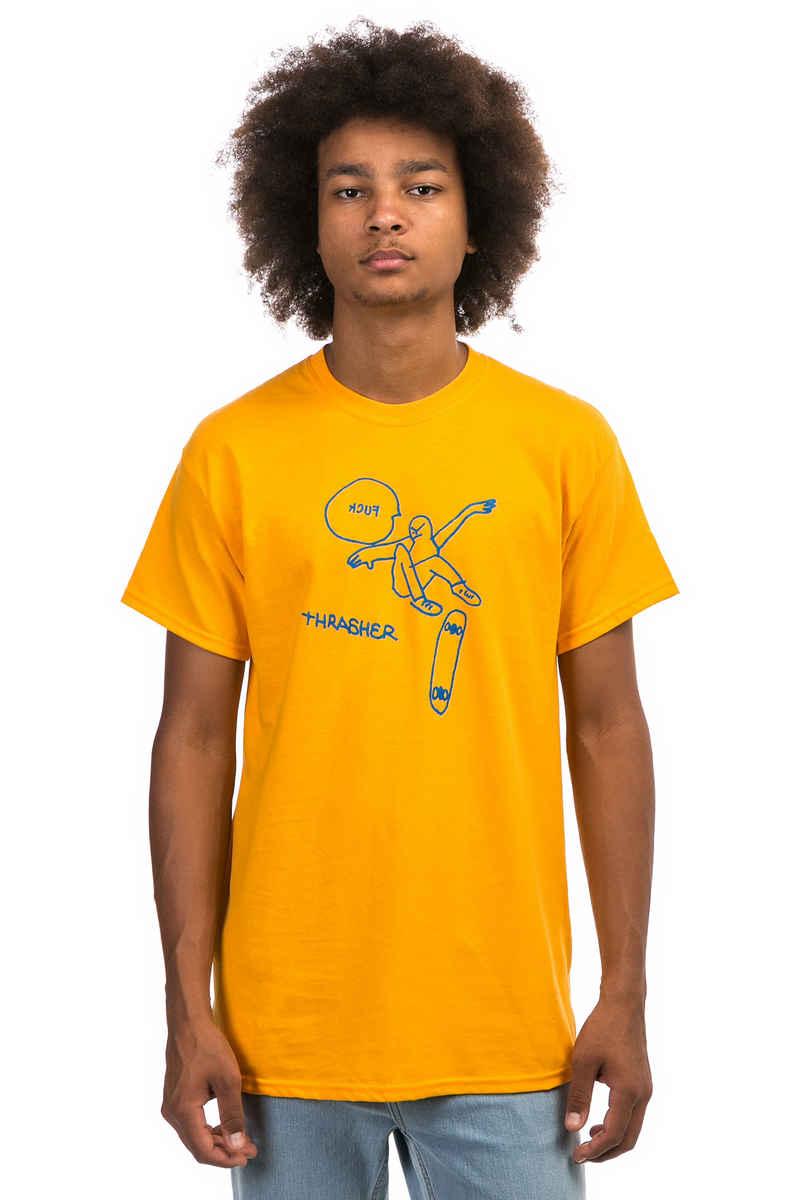 Thrasher KCUF T-Shirt (gold)