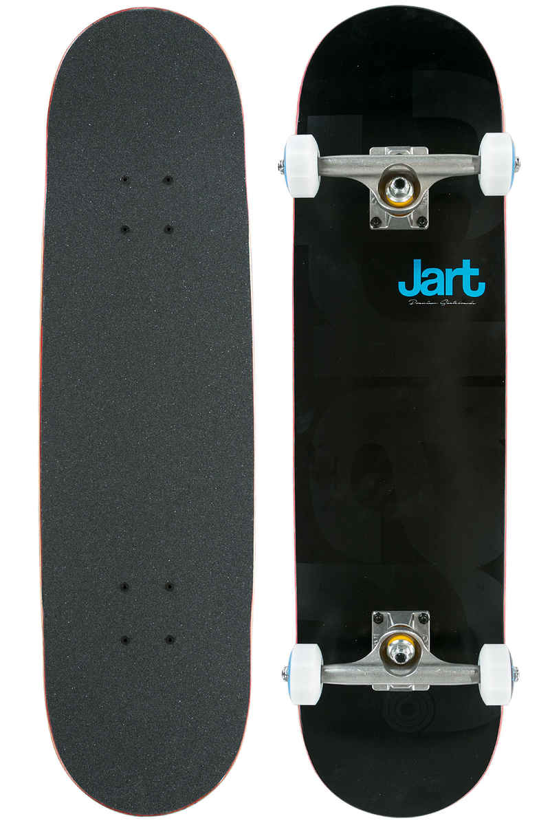 "Jart Skateboards Biggie 7.875"" Complete-Board (black)"