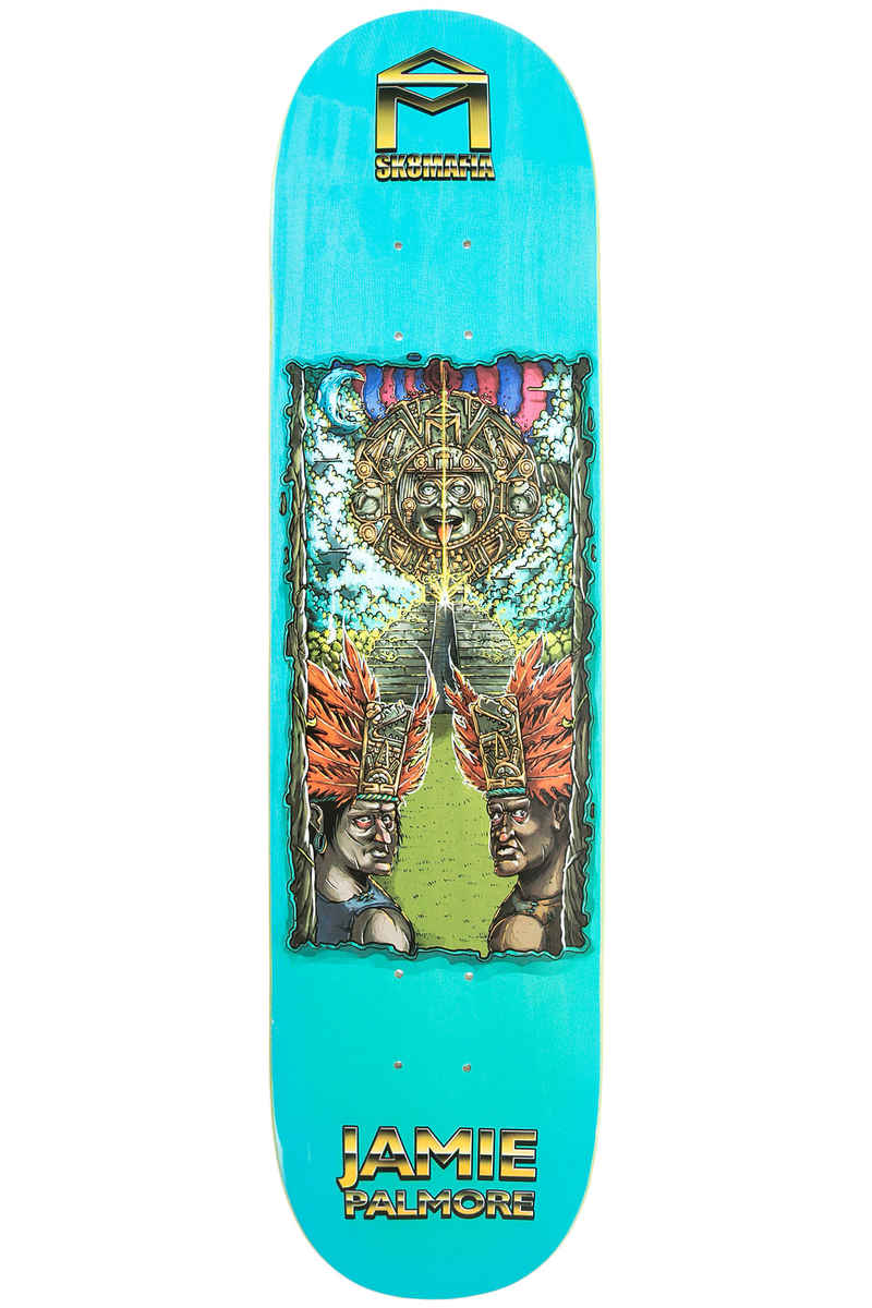 "Sk8Mafia Palmore 7 Wonders 8"" Deck (turquoise)"
