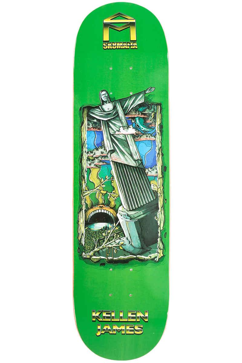 "Sk8Mafia James 7 Wonders 8"" Deck (green)"