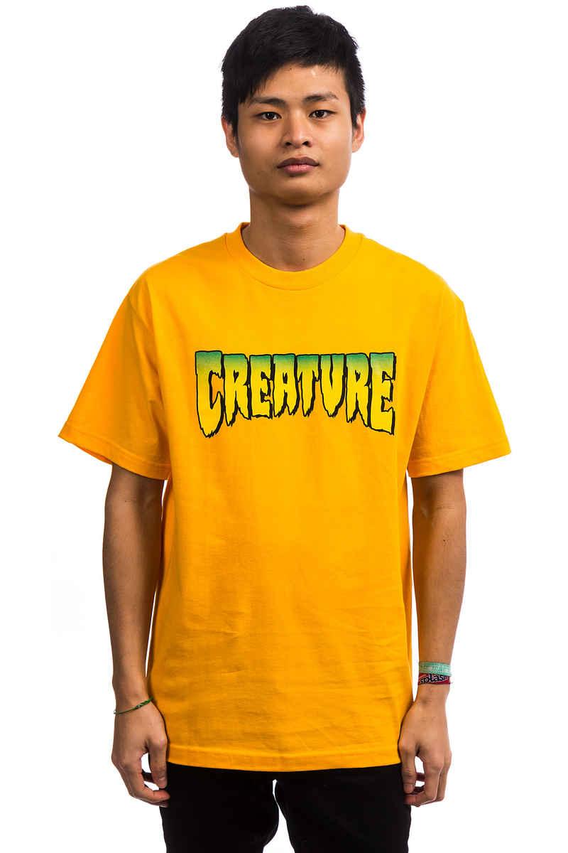 Creature Logo T-Shirt  (gold)
