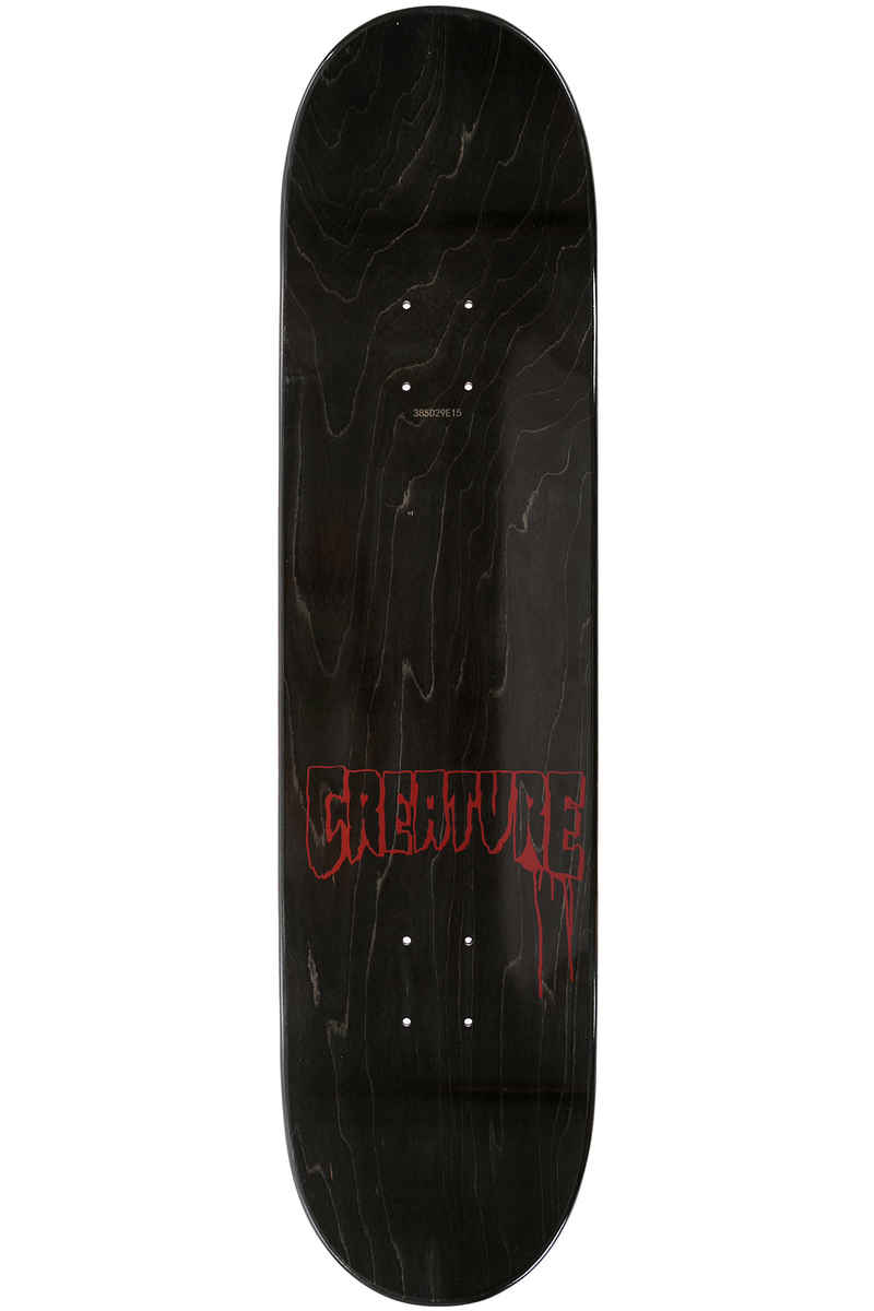 "Creature Team Stencil Logo 8.25"" Deck (black)"