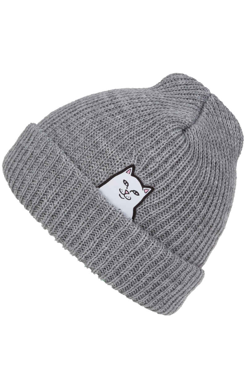 RIPNDIP Lord Nermal Beanie (gray)