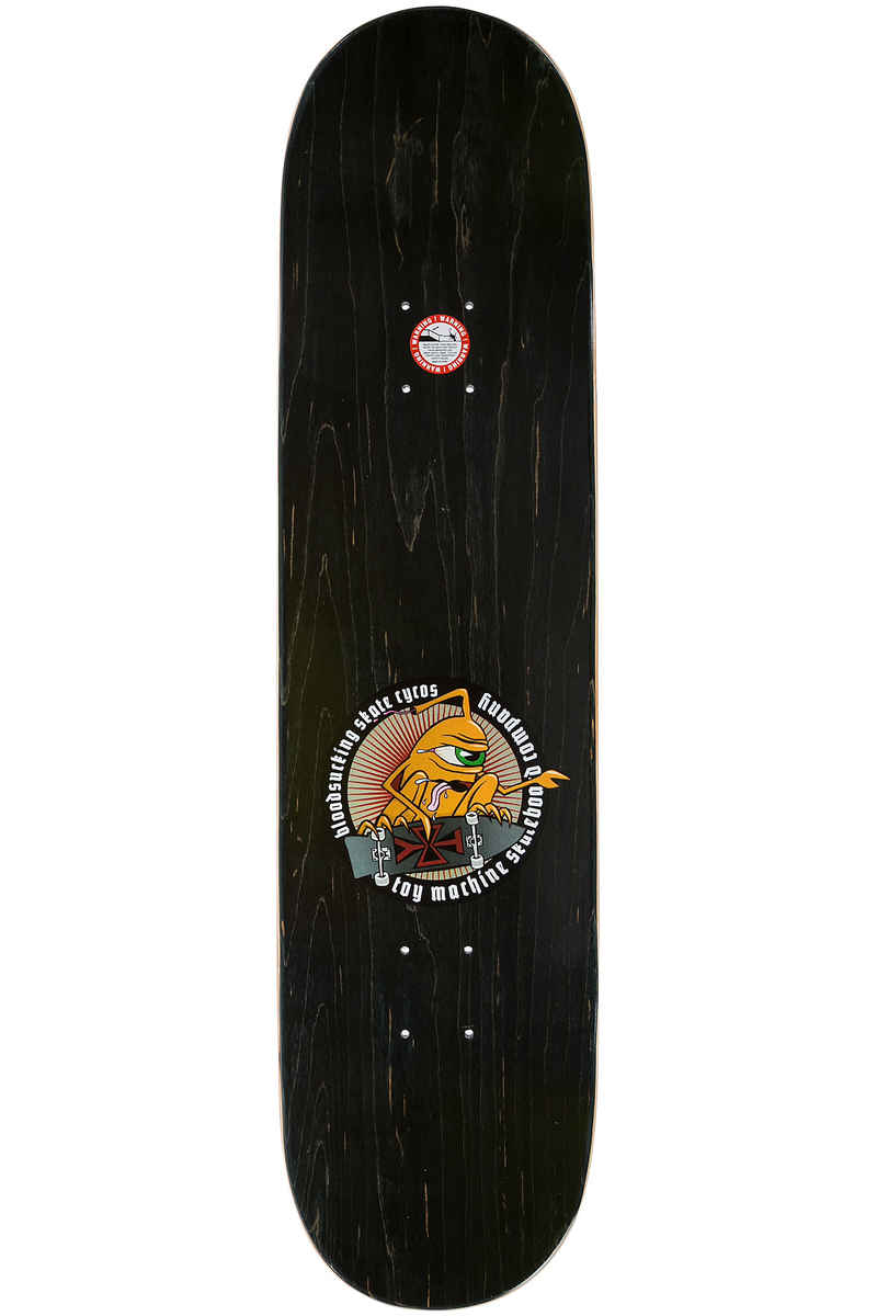 Toy Machine Marks Spirits 8125 Deck Multi Buy At Skatedeluxe Sect Eye Orange