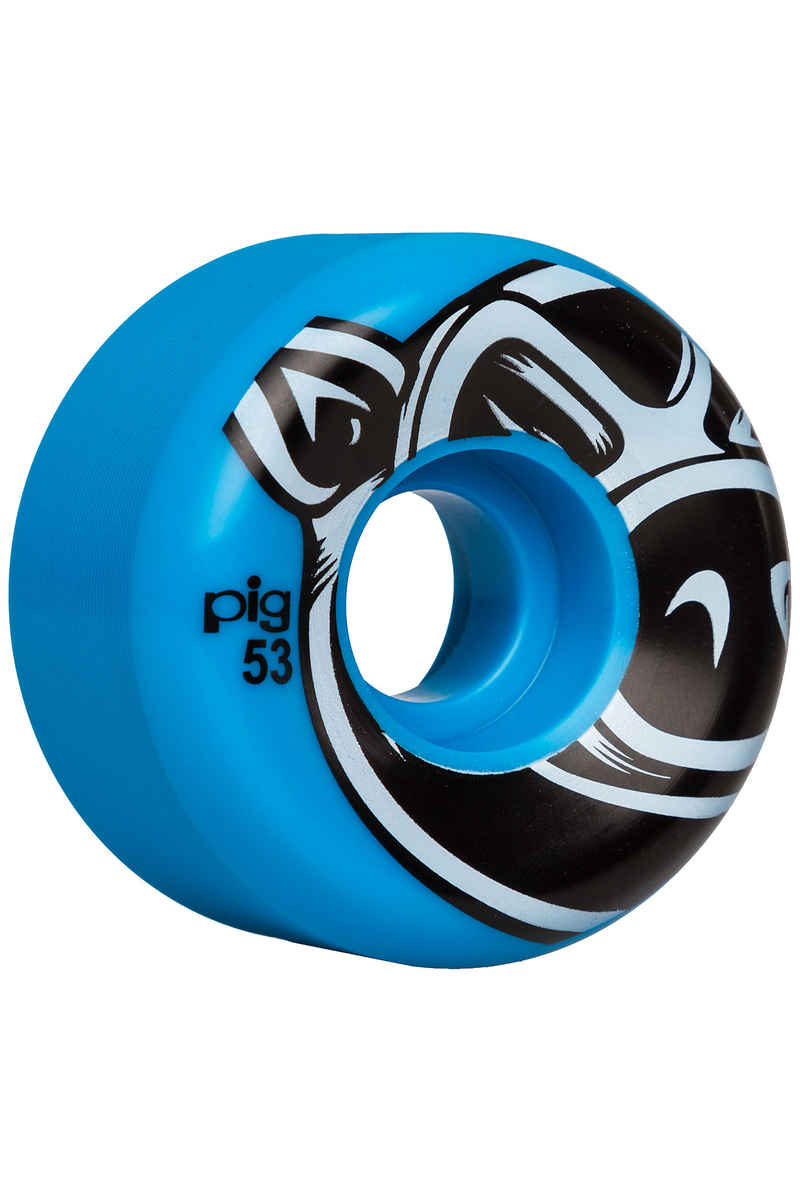 Pig 3D Conical Rollen (blue) 53mm 101A 4er Pack