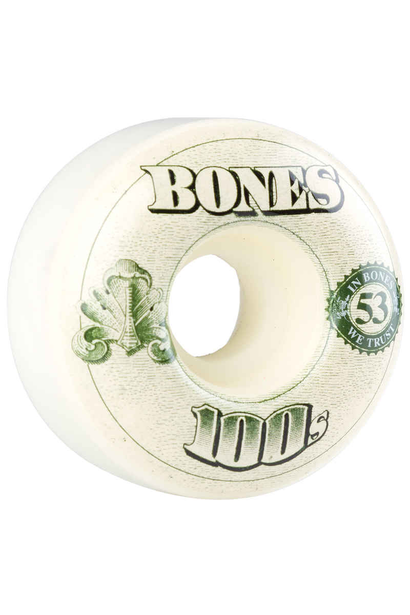 Bones 100's-OG #16 Rueda (white) 53mm 99A Pack de 4