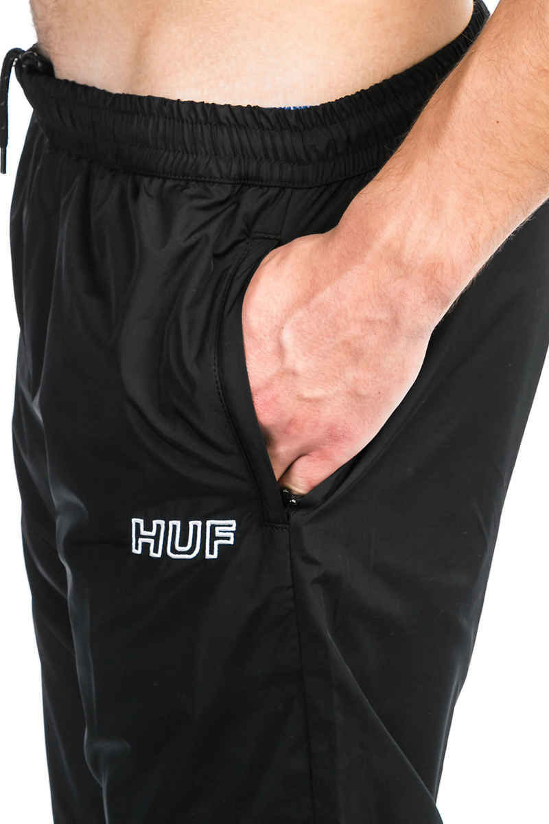 HUF Stadium Track Pants (black)