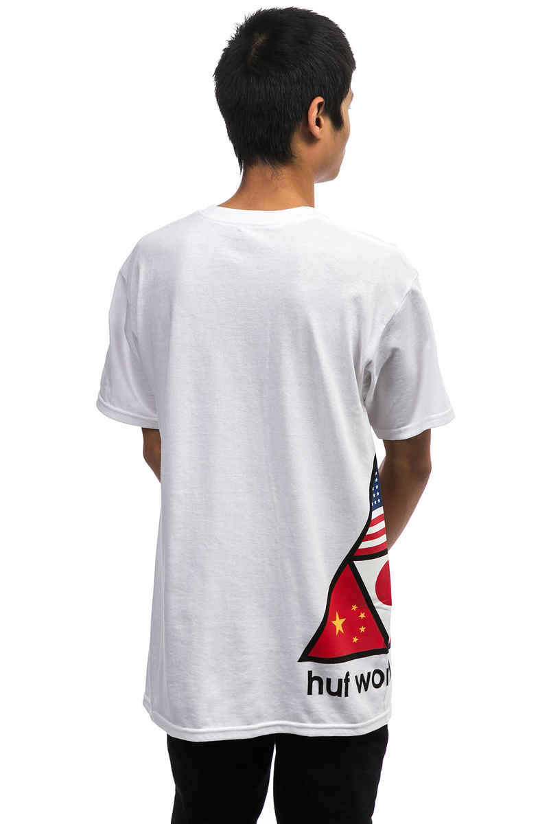 HUF Stadium Offsides T-Shirt (white)