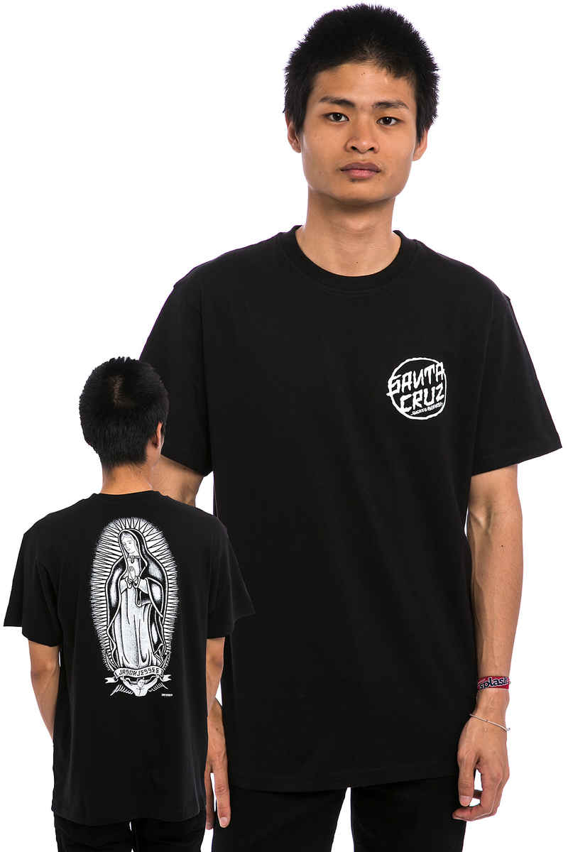 Santa Cruz Dressen Guadalupe T-Shirt (black)