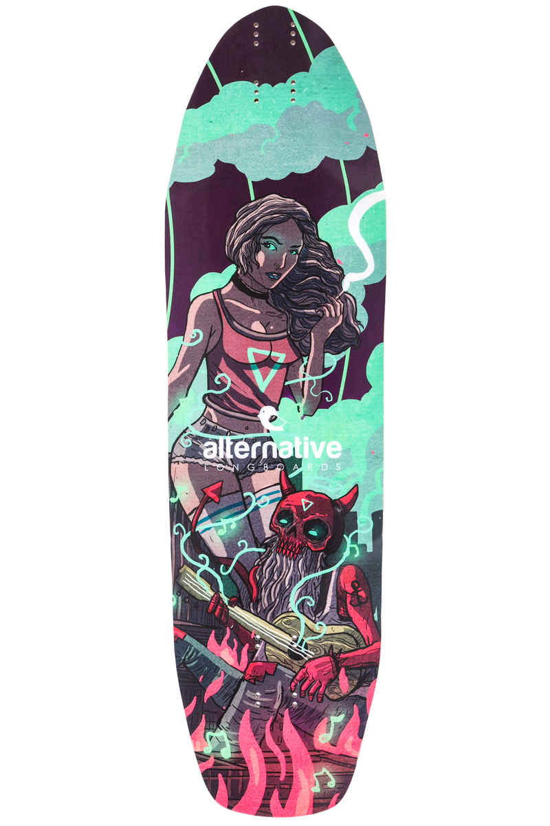 "alternative Fantail 35.83"" (91cm) Longboard Deck"